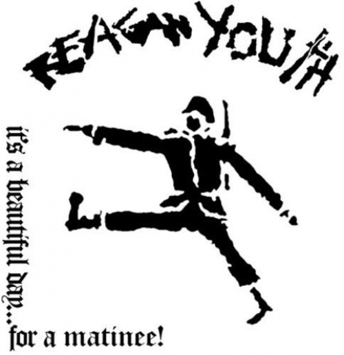 Reagan Youth - It's A Beautiful Day For A Matinee! - Only 500 Made Spatter Color