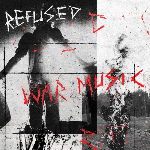 Refused - War Music Red W/ Black Starburst
