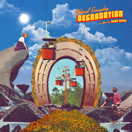 Remo Drive - Natural, Everyday Degradation Clear Smoke Indie Exclusive