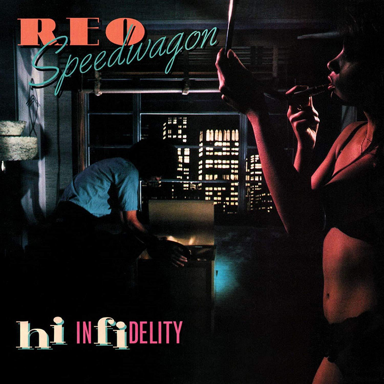 Reo Speedwagon -Hi Infidelity Translucent Blue Audiophile
