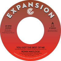 Ronn Matlock -You Got The Best Of Me / I Can