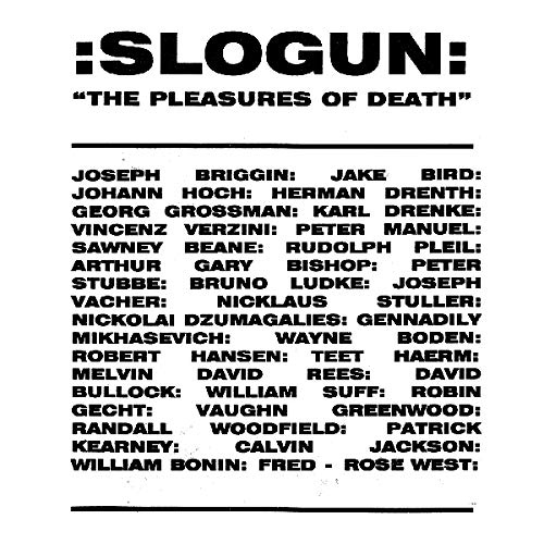 Slogun - The Pleasures Of Death
