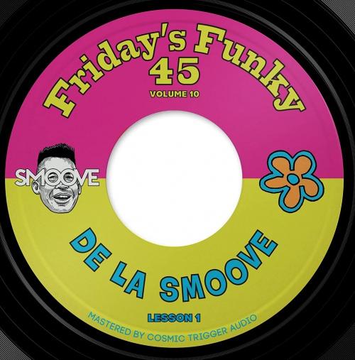 Smoove -De La Smoove B/W Hall & Soul