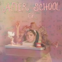 Soup  &  Salad -After School EP  (Baby blue vinyl)
