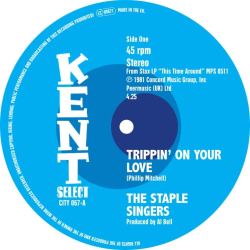 Staple Singers / Temprees - Trippin On Your Love / That's Why I Love You