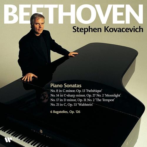 Stephen Kovacevich -Beethoven: Piano Sonatas Nos. 8 14 17 & 21 Bagatelles Op. 126