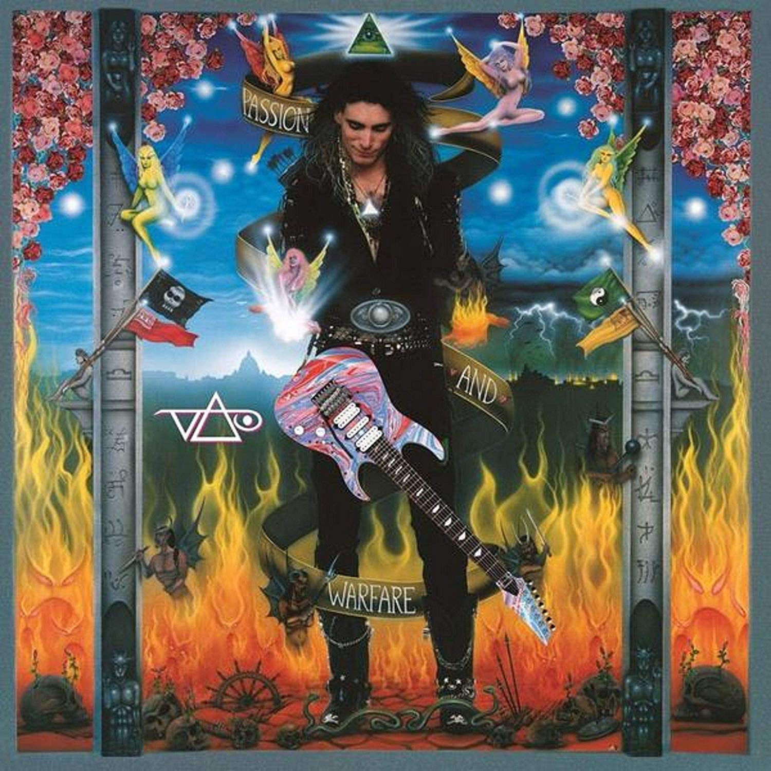 Steve Vai - Passion And Warfare Translucent Blue Audiophile Bonus Tracks