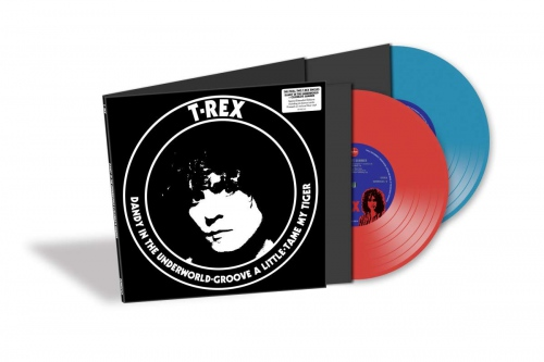 T Rex Dandy In The Underworld Red Amp Blue Colored Set