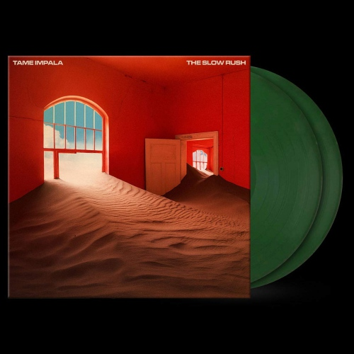 Tame Impala - The Slow Rush Forest Green
