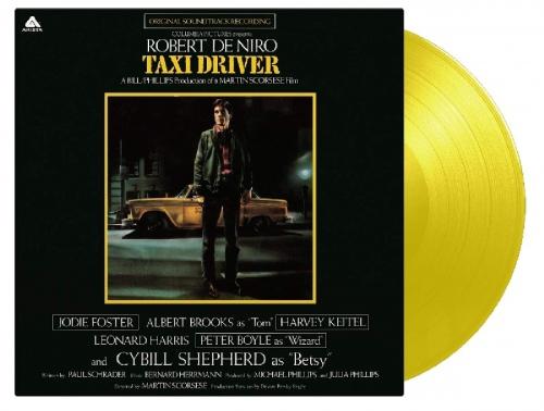 Taxi Driver Ost (180G/yellow Vinyl) - Taxi Driver Original Soundtrack