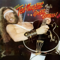 Ted Nugent - Great Gonzos-The Best Of Ted Nugent Audiophile Translucent Gold Poster