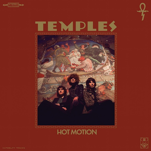Temples - Hot Motion Forest Green/tan With Red/yellow Sp