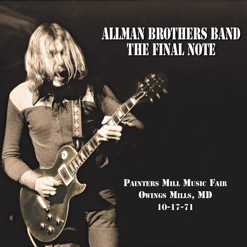 The Allman Brothers Band - The Final Note - Black Vinyl