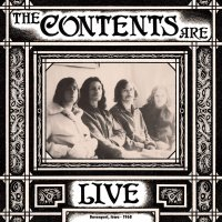 The Contents Are - Live Davenport Iowa 1968