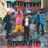 The Damned - Smash It Up B/W Burglar
