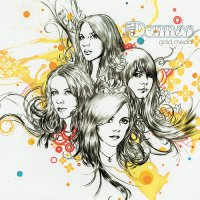 The Donnas - Gold Medal Limited Black & Gold Splatter Edition