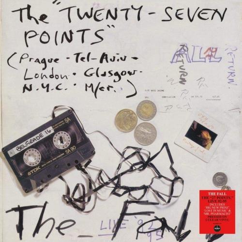 The Fall - Twenty-Seven Points: Live 92-95 (140-gram clear vinyl)