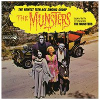 The Munsters - The Munsters (Orange with black splatter vinyl)