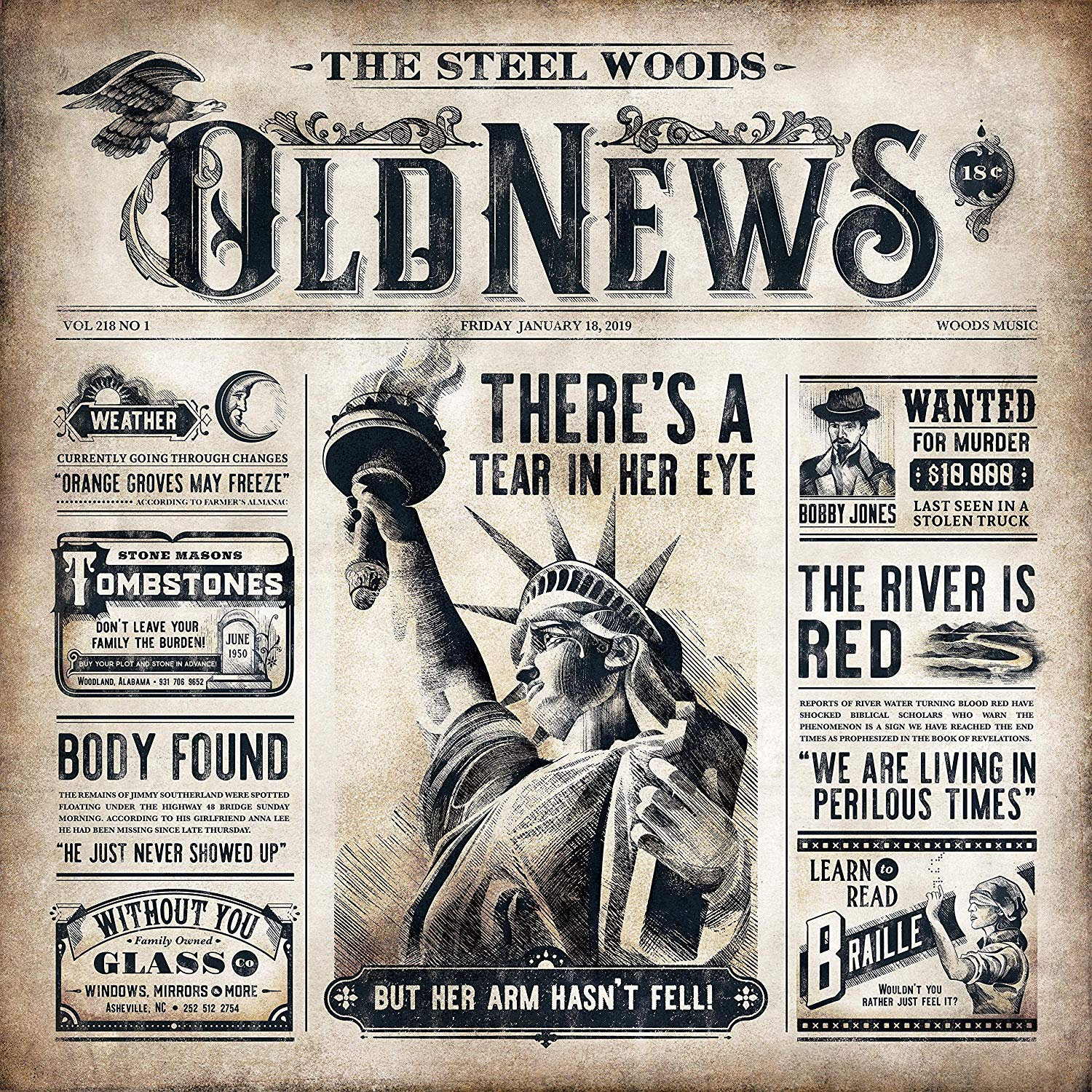 The Steel Woods - Old News