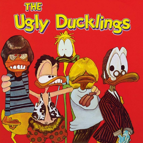The Ugly Ducklings - Ugly Ducklings (Fluorescent yellow with red specs )