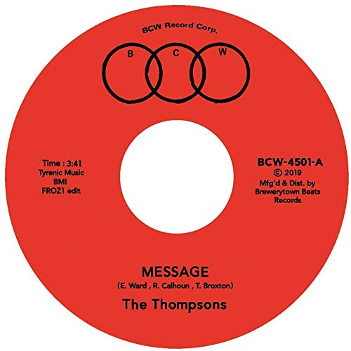 Thompsons - Message