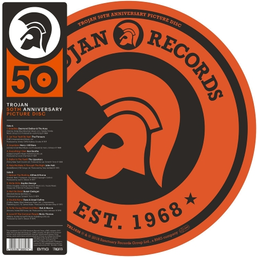 Trojan 50Th Anniversary Picture Disc - Trojan 50Th Anniversary Picture