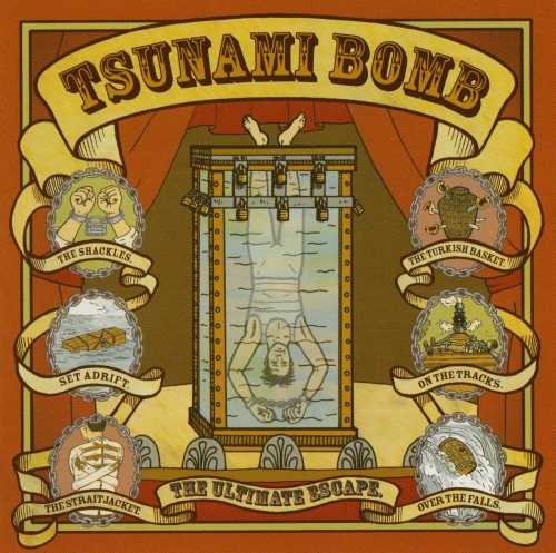 Tsunami Bomb - Ultimate Escape - Only 250 Made Red Color