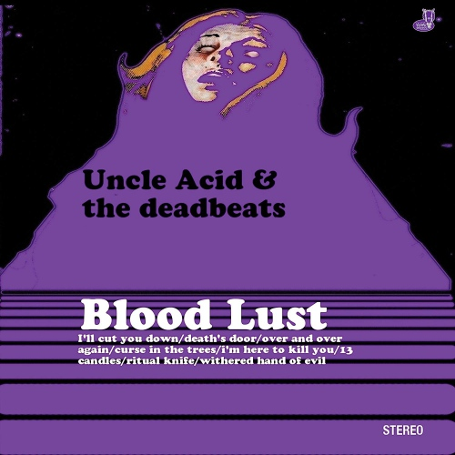 Uncle Acid & The Deadbeats - Blood Lust Rise Above Records 30Th Anniversary Gold Sparkle Edition