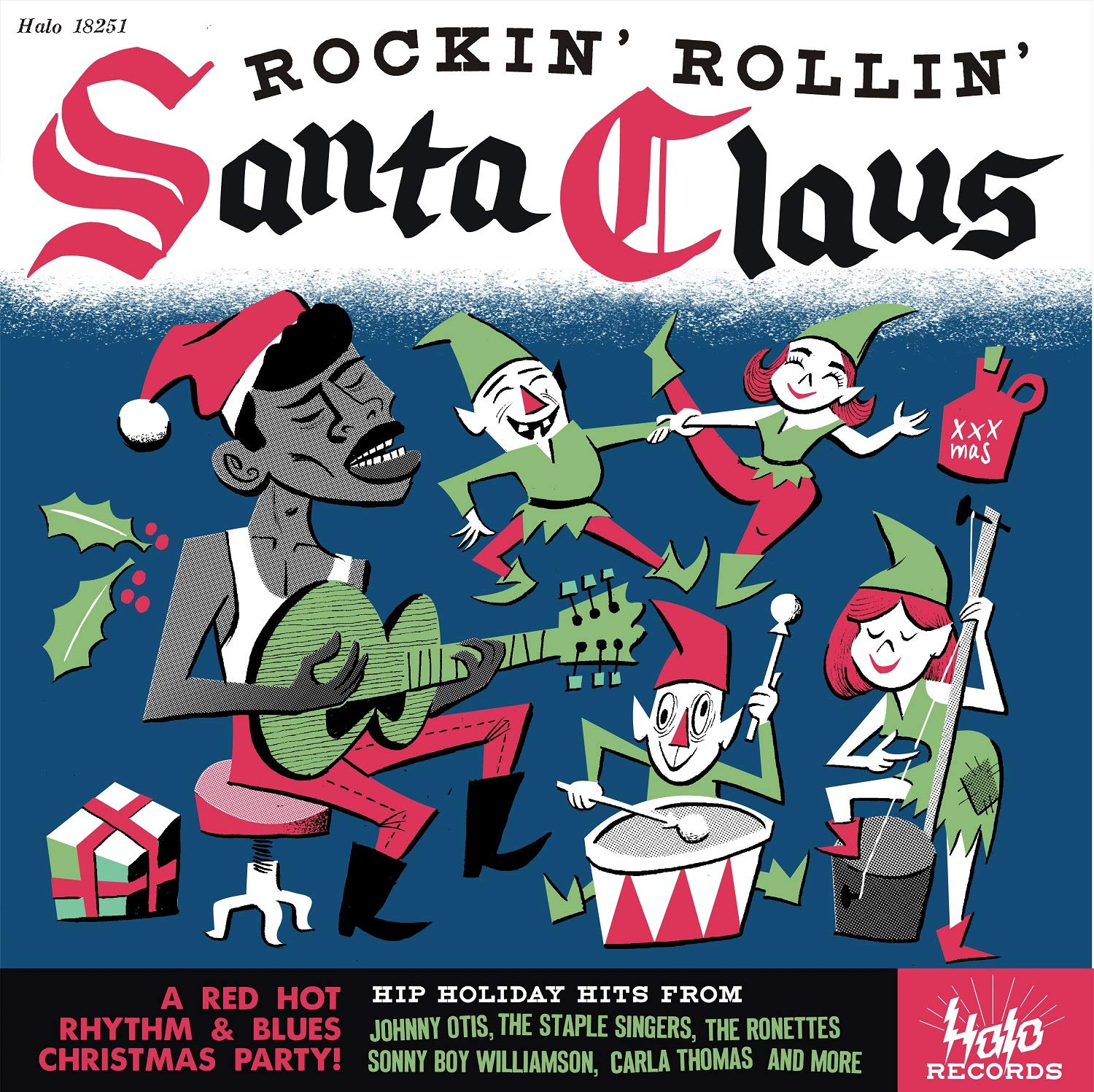 Various Artists - Rockin & Rollin With Santa Claus