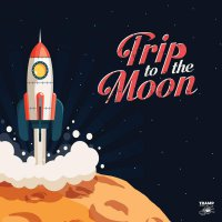 Various Artists - Trip To The Moon: 11 Obscure R&b, Garage Rock & Deepfunk Songs Aboutthe Moon / Various