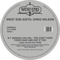 Various Artists - West End Edits: Greg Wilson / Various