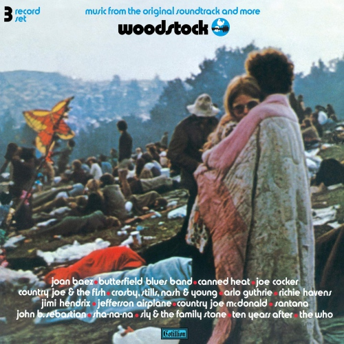 Various Artists - Woodstock - Music From The Original Soundtrack And More