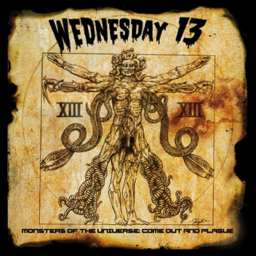Wednesday 13 - Monsters Of The Universe: Come Out And Plague Gold