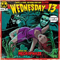Wednesday 13 - Necrophaze Mint/purple Swirl