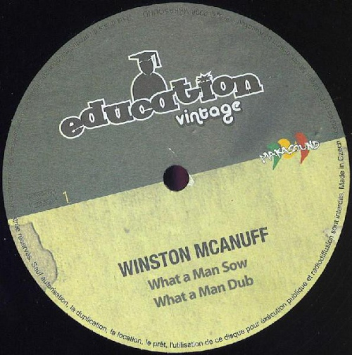 Winston Mcanuff - What A Man Sow